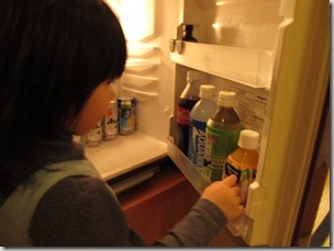 ヒルトン東京ベイ 和室スイートルーム 冷蔵庫3