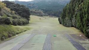 油山ゴルフ場 1ホール
