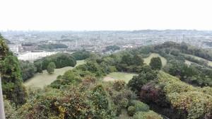 ゴンドラから見た福岡市内