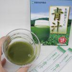 【レビュー】CMでもよく見る世田谷自然食品の「乳酸菌が入った青汁」を飲んでみた