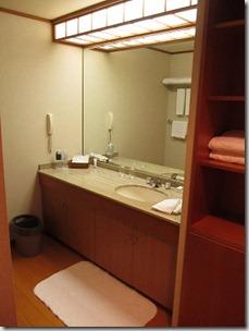ヒルトン東京ベイ 和室スイートルーム 風呂場1