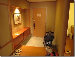 ヒルトン東京ベイ 和室スイートルーム 玄関1