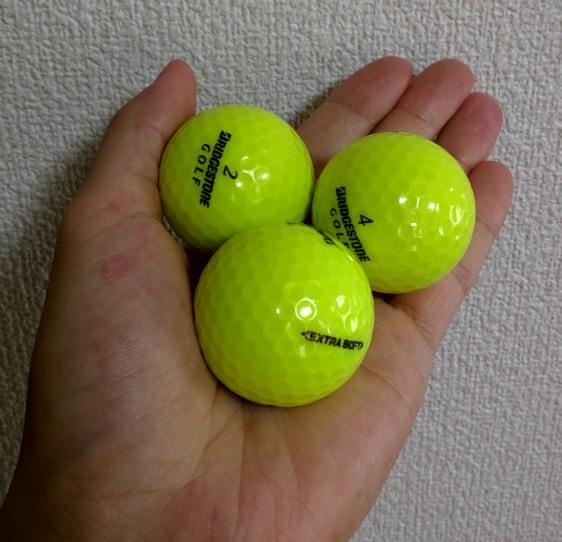 ふるさと納税でゴルフボールをもらいました