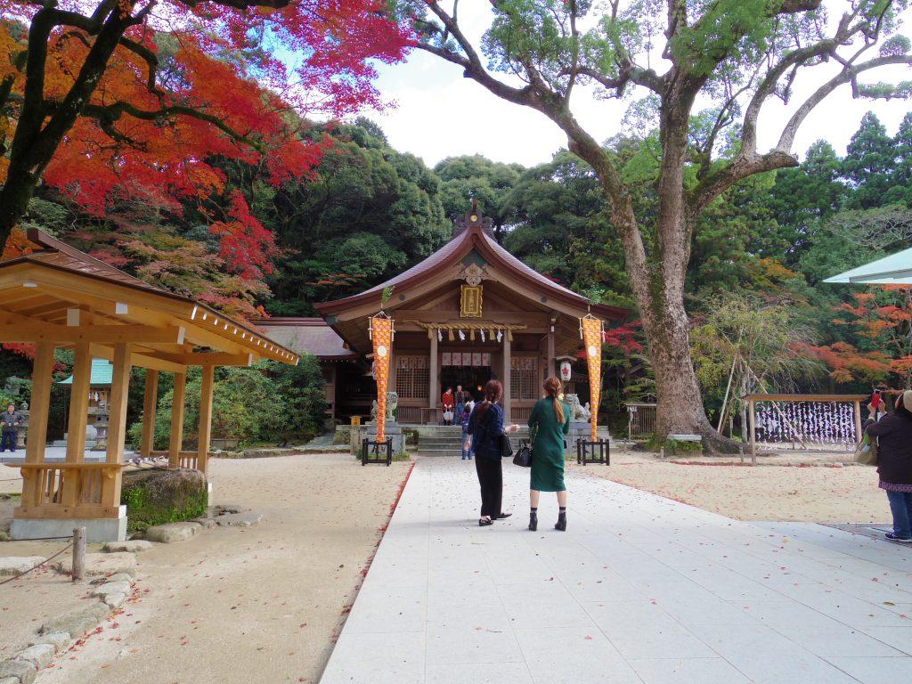竃門神社 本堂