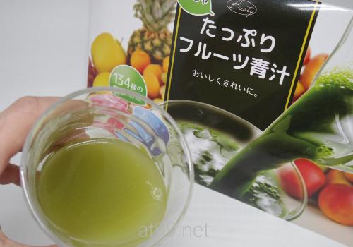 めっちゃたっぷりフルーツ青汁