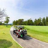 ゴルフ場のカート
