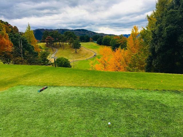 ゴルフ場のティーグラウンド