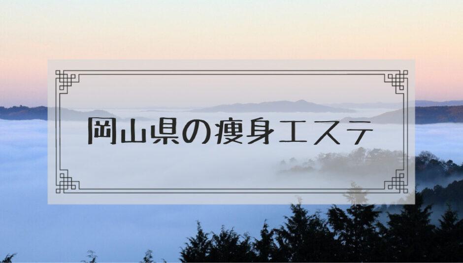 岡山県の痩身エステ