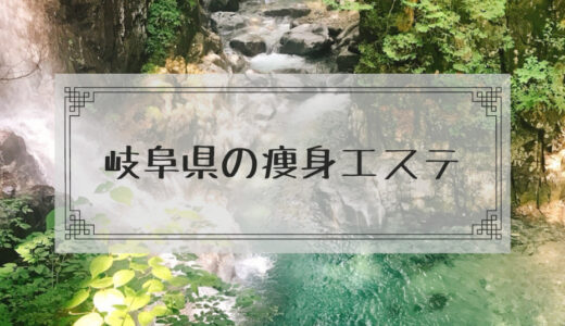 岐阜県の痩身エステで格安ダイエットモニターを募集しているエステサロンまとめ