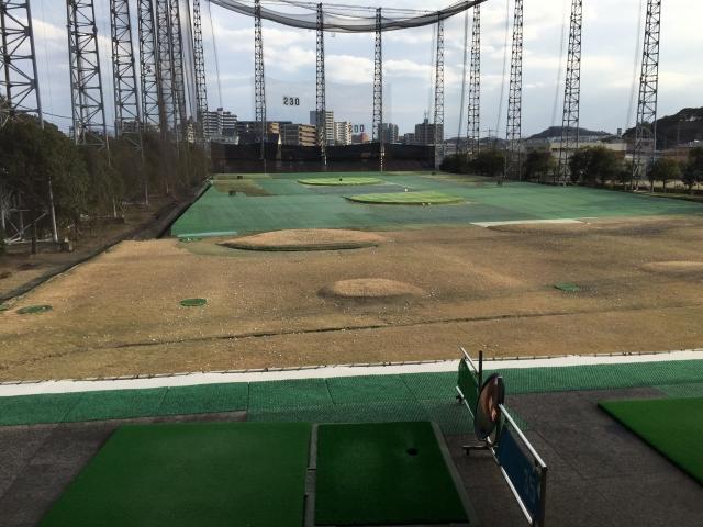 ゴルフ練習場09