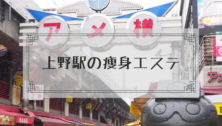 上野駅の痩身エステ